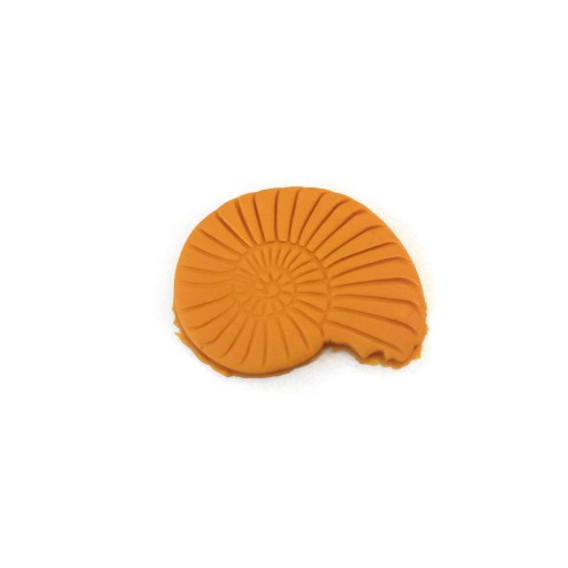 "3D Printed Ammonite Fossil Cookie Cutter 2 1/2"" x 2"""