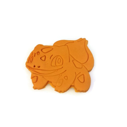 "Pokemon Bulbasaur Cookie Cutter 3 1/2"" x 3 1/4"""
