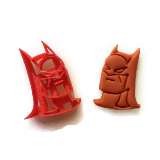 Batman Face Cupcake Cakepop fondant cutter