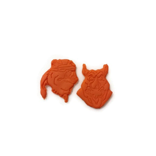 BeBop and Rocksteady Teenage Mutant Ninja Turtles TMNT Cookie Cutter set