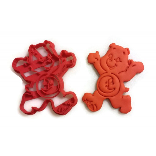 Care Bears Bedtime Bear cookie cutter