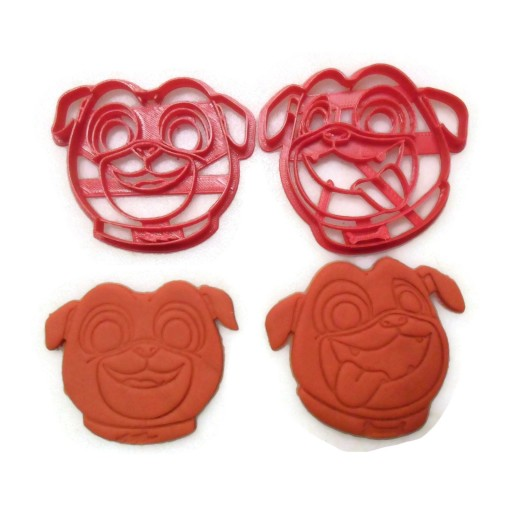 Puppy Dog Pals Bingo and Rolly cookie cutter set
