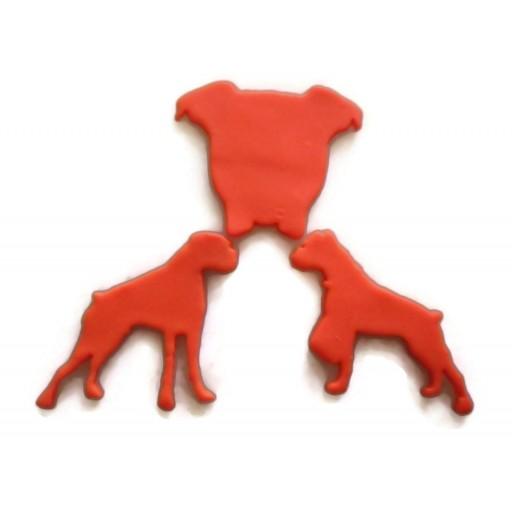 Boxer Dog Cookie Cutter Fondant Cutter Set