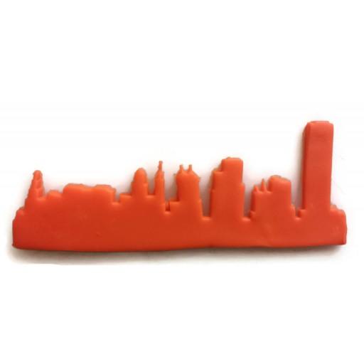 Buffalo New York Skyline fondant cutter