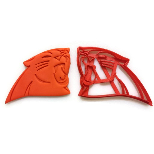 NFL Carolina Panthers Large Cookie Cutter