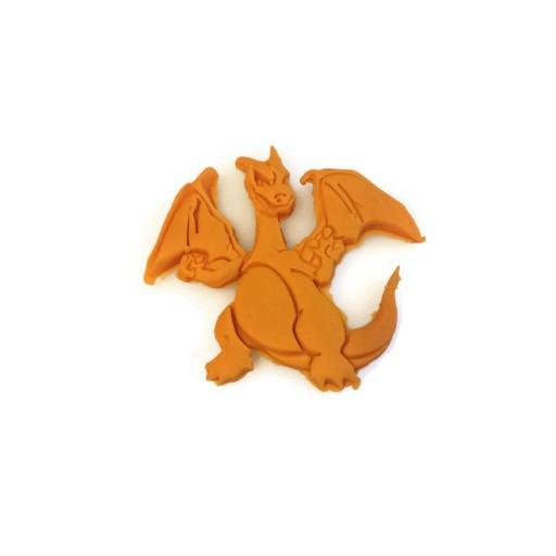 "Pokemon Charizard Cookie Cutter 3 1/2"" x 3 1/2"""