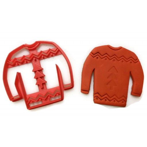 Ugly Christmas Sweater cookie cutter