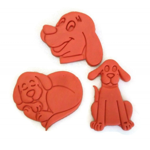 Clifford the Big Red Dog cookie cutter set