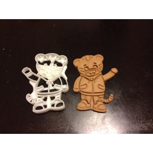 Daniel Tiger Custom Cookie Cutter