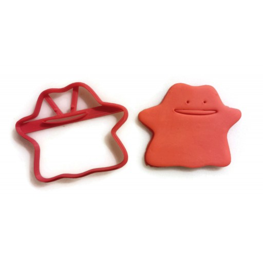 Pokemon Ditto Cookie cutter