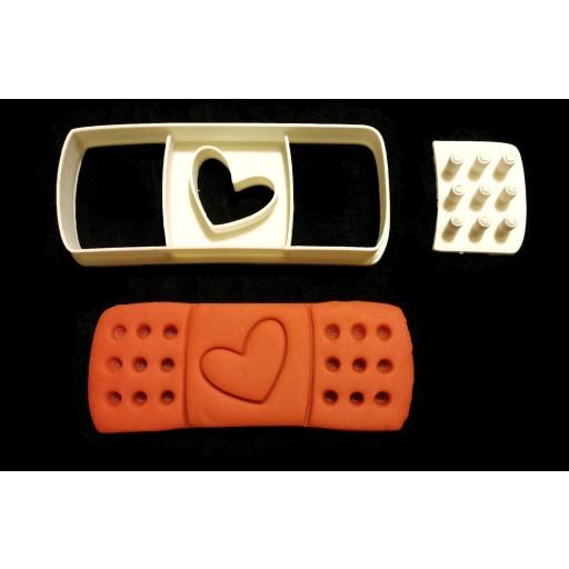 Doc McStuffins Band-Aid Cookie Cutter