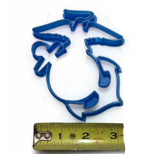 United States Marine Corps Eagle Globe Anchor Cookie Cutter