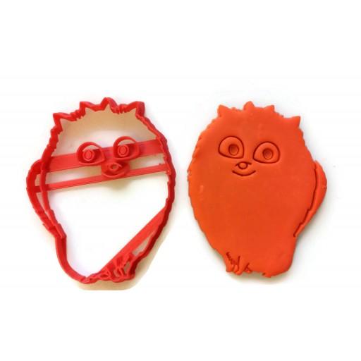Secret Life of Pets Gidget cookie cutter