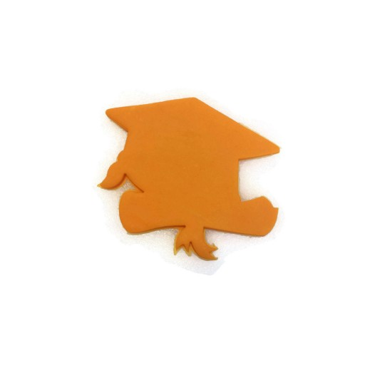 """3D Printed Graduation Cap and Scroll cookie cutter 3 1/2"""" x 3"""""""