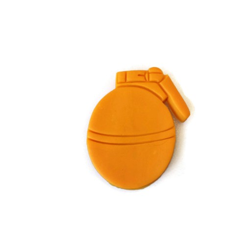 "3D Printed Hand Grenade Cookie Cutter 3"" x 2 1/2"""