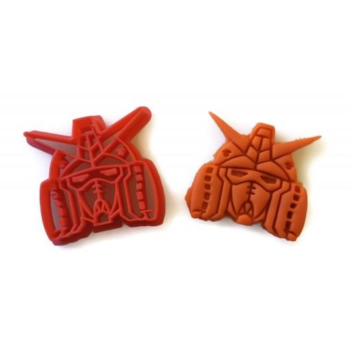 Gundam Cookie Cutter Fondant Cutter