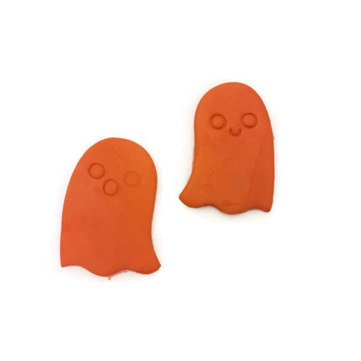 3D Printed Halloween Kawaii Style Ghost Cookie Cutter Set