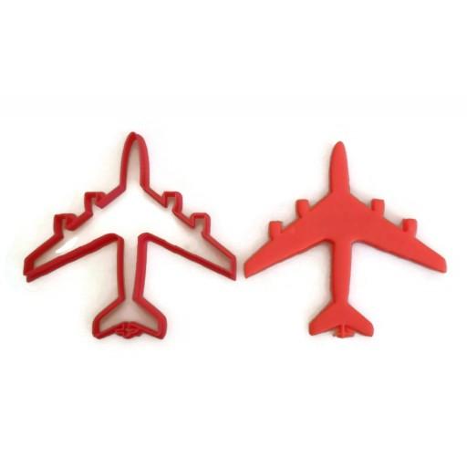 KC-135 Stratotanker airplane cookie cutter fondant cutter