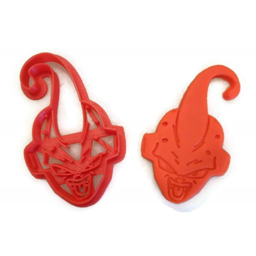 Dragon Ball Z Kid Buu cookie cutter