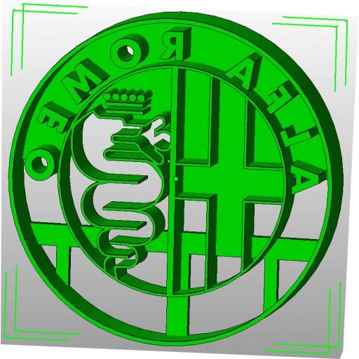 Alfa Romeo Logo Cookie Cutter