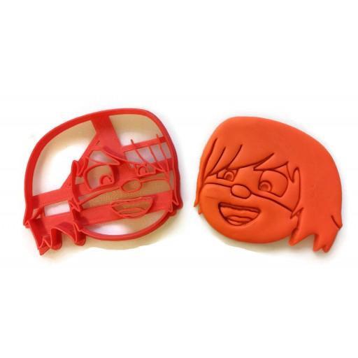 PJ Masks Luna Girl Face Cookie Cutter