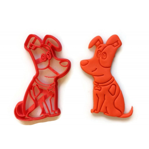 Secret Life of Pets Max cookie cutter