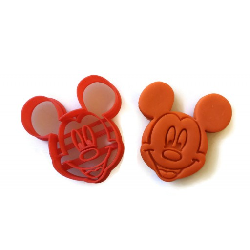 Mickey Mouse Face Fondant Cutter