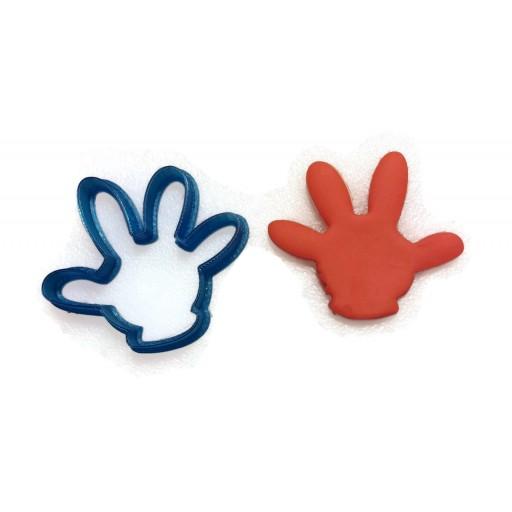 Mickey Mouse Glove fondant cutter