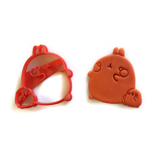 Molang and Piu Piu cookie cutter
