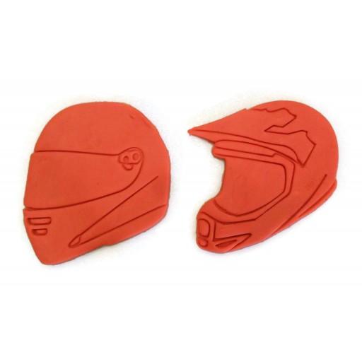 Motorcycle Helmet Motocross Helmet cookie cutter set