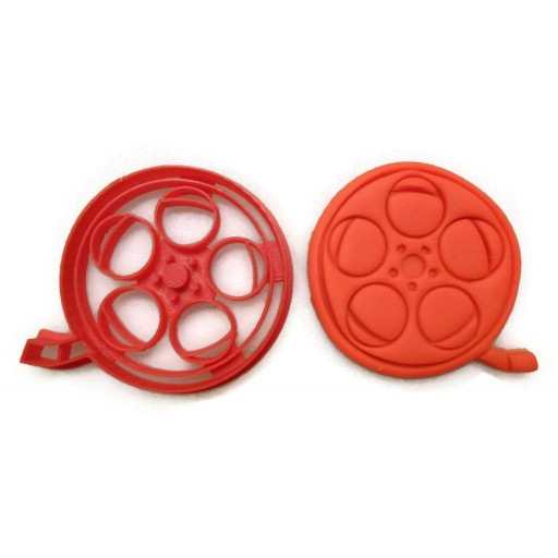 Movie Reel cookie cutter fondant cutter