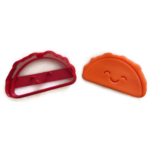Kawaii Taco cookie cutter fondant cutter