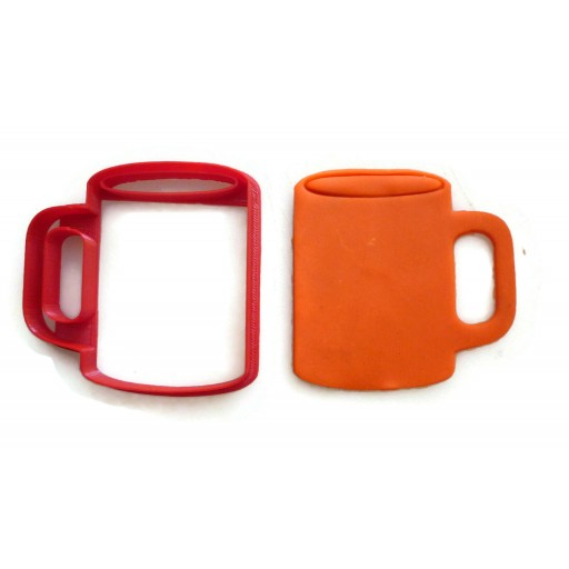 Coffee Mug cookie cutter fondant cutter