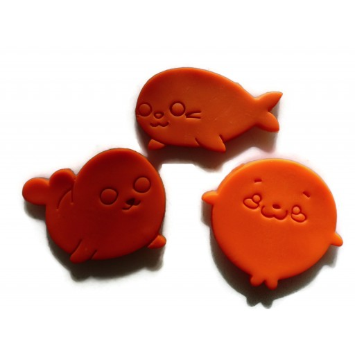 Kawaii Seal cookie cutter set