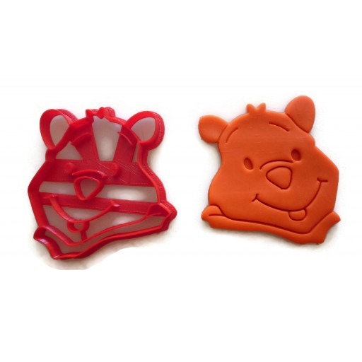 Winnie The Pooh Pooh face cookie cutter