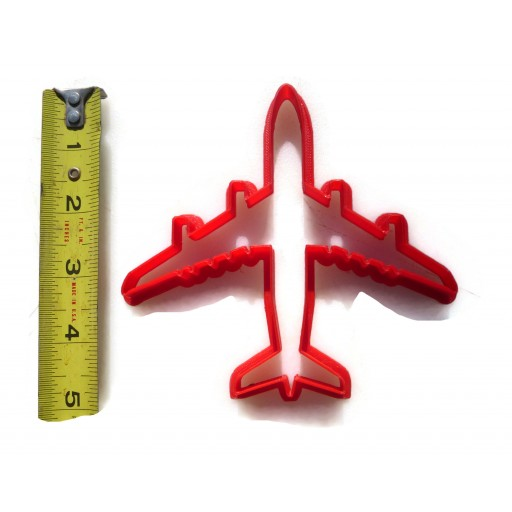 Airbus A380 Airliner cookie cutter fondant cutter