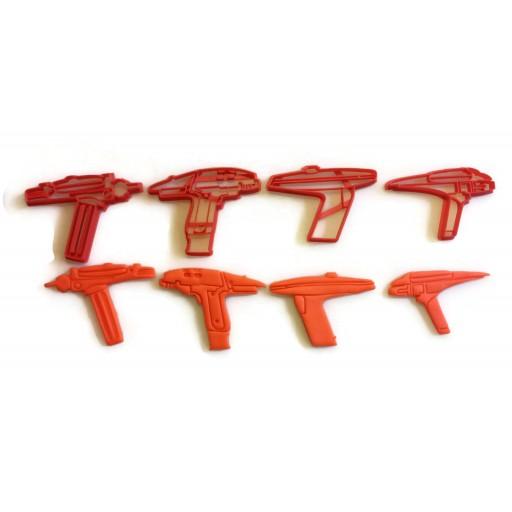 Star Trek Phaser cookie cutter set original series