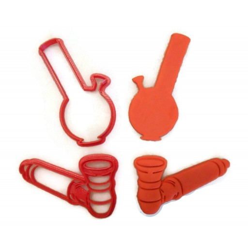 Pipe and Water pipe cookie cutter set