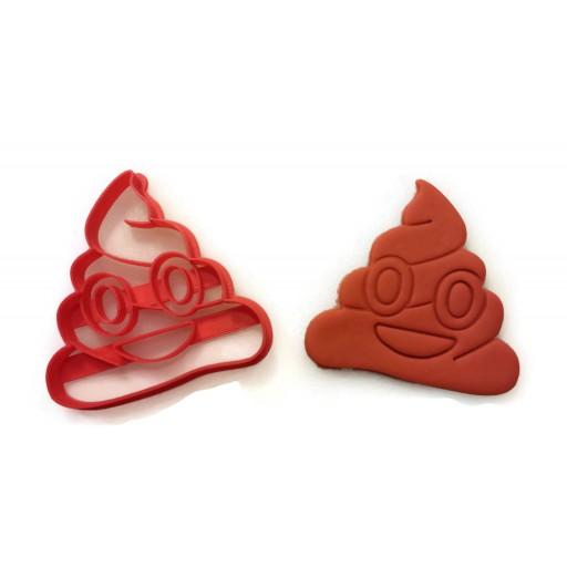 Emoji Poop Cookie Cutter