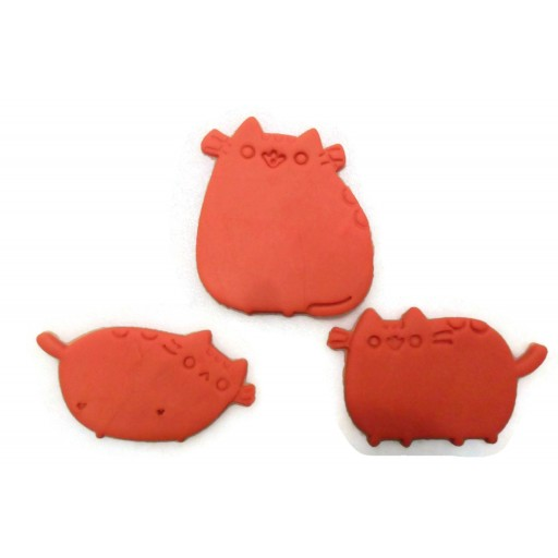 Pusheen the Cat cookie cutter set