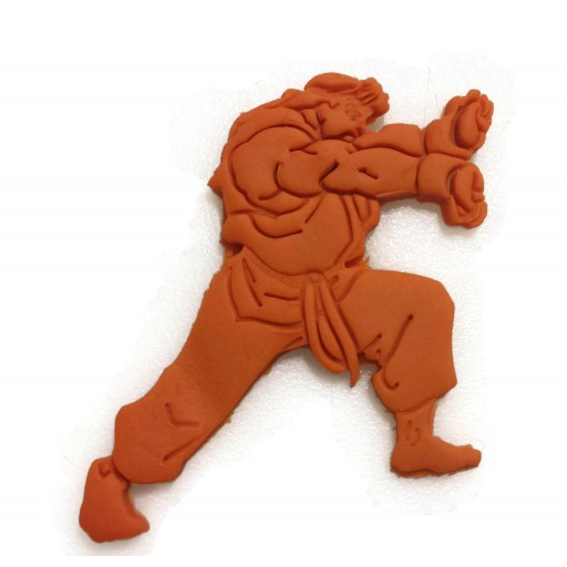 Street Fighter 2 Detailed Ryu Cookie Cutter