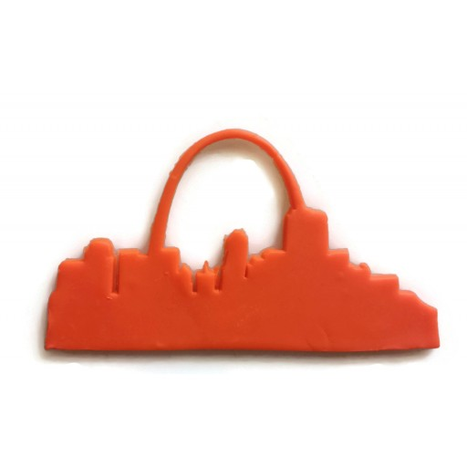 Saint Louis Skyline fondant cutter