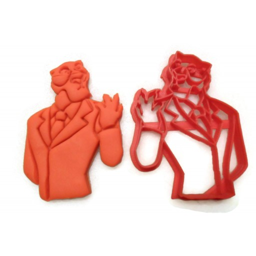 Talespin Shere Khan cookie cutter
