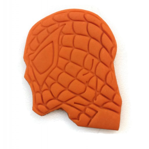 Spiderman head profile cookie cutter