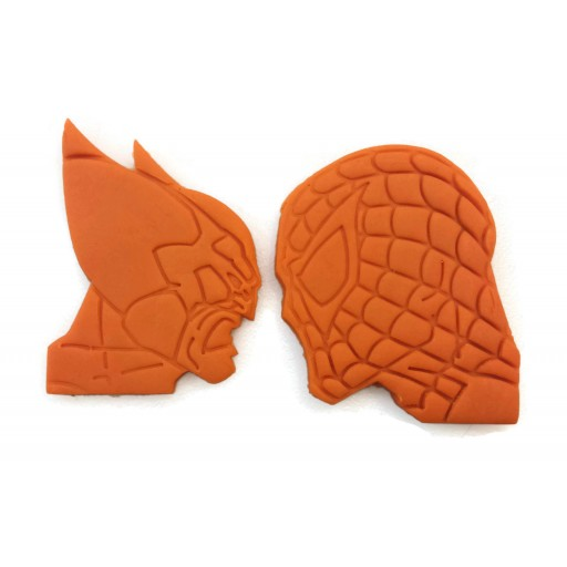 Spiderman Vs Wolverine Cookie Cutter set