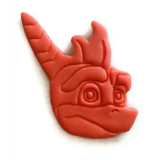 Spyro the Dragon cookie cutter