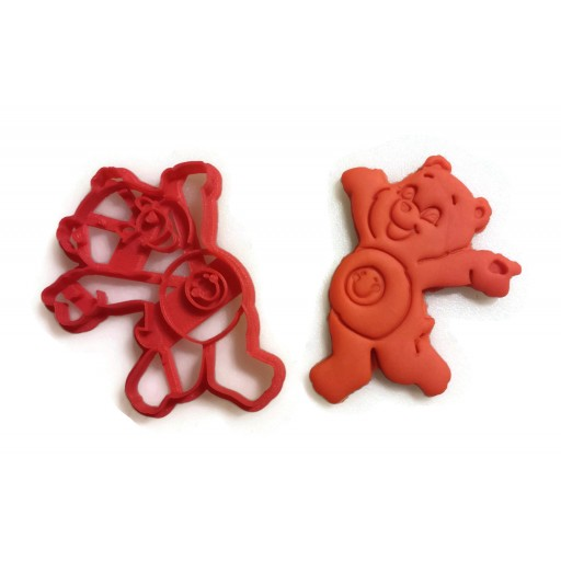 Care Bears Sunshine Bear cookie cutter