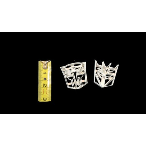 Small Transformers Fondant Cutters for Cakepops or Cupcakes