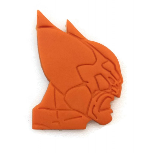 Wolverine detailed Head profile Cookie Cutter