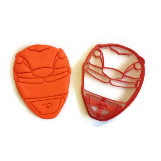 Power Rangers Yellow Power Ranger cookie cutters